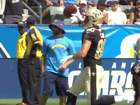 Watch: Taysom Hill drives throw to Austin Carr for Saints' first TD