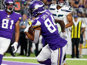 Watch: Irv Smith Jr. hauls in first preseason TD with Vikings