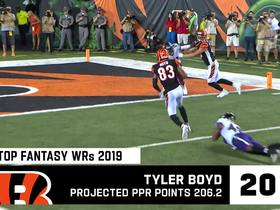 Watch: Cynthia Frelund's Top 20 Fantasy Wide Receivers