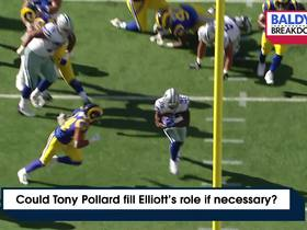 Watch: Could Tony Pollard fill Elliott's role if necessary? | Baldy's Breakdowns