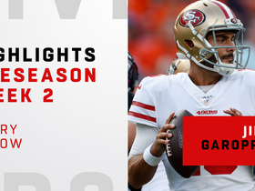 Watch: Every Jimmy Garoppolo throw | Preseason Week 2