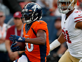 Watch: T.D.: Emmanuel Sanders 'confirmed' that he was back to full strength Monday night