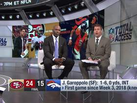 Watch: Terrell Davis reveals the toughest problem Jimmy G has right now