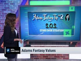 Watch: Kay Adams' top three fantasy value draft tips