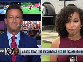 Watch: A.B. files second grievance with NFL over helmet
