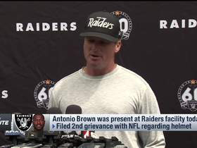 Watch: Gruden on A.B. returning to Raiders: 'He's all in'