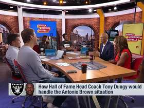 Watch: Tony Dungy reveals how he would handle A.B. if he were his coach