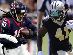 Watch: Hopkins vs. Kamara: Who'll be the better fantasy player?