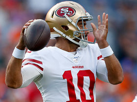 Watch: Acosta: 49ers hope Jimmy G can play longer vs. Chiefs