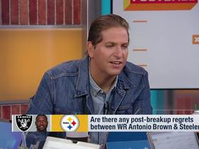 Watch: Are there post-breakup regrets between A.B. and Steelers?