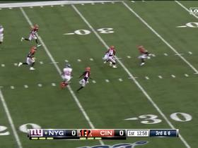 Watch: Eli Manning slings DART over middle to Russell Shepard for 19 yards