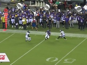 Watch: Miles Boykin splits two Eagles DBs for HUGE catch and run