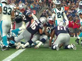 Watch: James Develin punches through for TD