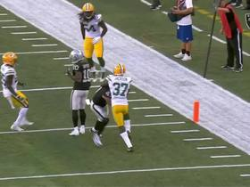 Watch: Keith Smith stands UP Packers defender for major TD