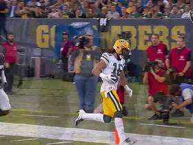 Watch: Tim Boyle throws perfectly timed sideline TD to Kumerow