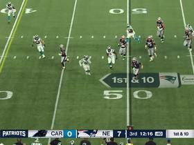 Watch: Stidham angles to sideline for 6-yard rush