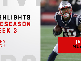 Watch: Every Jakobi Meyers catch | Preseason Week 3