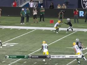 Watch: Nathan Peterman slings pass to Keon Hatcher for big gain