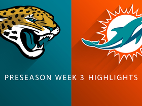 Watch: Jaguars vs. Dolphins highlights | Preseason Week 3