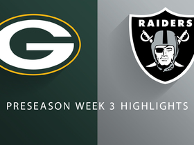 Watch: Packers vs. Raiders highlights | Preseason Week 3