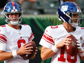 Watch: Rapoport explains how dynamics of Giants QB situation have changed in preseason