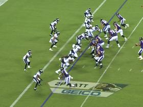 Watch: Marquise 'Hollywood' Brown makes his NFL debut vs Eagles | Baldy's Breakdowns