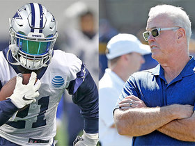 Watch: Stephen Jones: There's 'no concern' over contract with Zeke