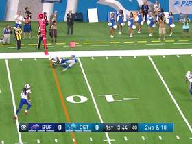 Watch: Amendola somehow holds on to catch over Tre'Davious White