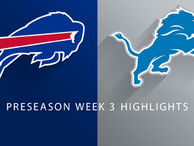 Watch: Bills vs. Lions highlights | Preseason Week 3