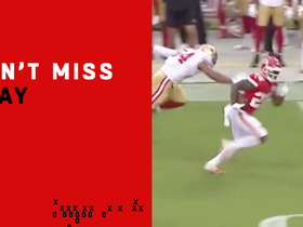 Watch: Can't-Miss Play: Williams leaves 49ers in the dust on 62-yard TD