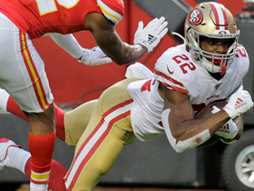 Watch: Matt Breida lays out for spectacular diving TD grab from Jimmy G