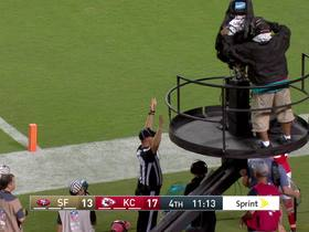 Watch: Jeff Wilson beats Chiefs defense to pylon for TD