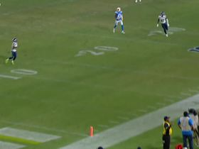 Watch: Russell Wilson connects with Tyler Lockett for a 30-yard gain