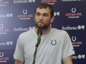 Watch: Andrew Luck explains why he's retiring before 2019 season