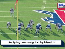 Watch: Analyzing how strong Jacoby Brissett is | Baldy's Breakdowns
