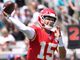 Watch: Mahomes lays perfect throw in to Kelce on the move for 42 yards