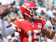 Watch: Mahomes lobs 49-yard pass to open Watkins for walk-in TD