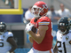 Watch: Mahomes lofts floater to Kelce for major yardage