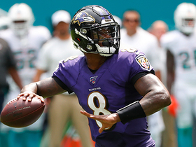 Watch: Lamar Jackson sneaks pass to Patrick Ricard for TD