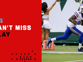 Watch: Can't-Miss Play: Josh Allen hits John Brown downtown for game-tying TD