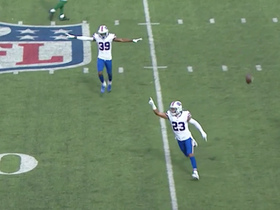 Watch: Bills' defense steps up for CLUTCH fourth-down stop