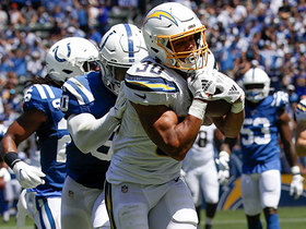 Watch: Austin Ekeler spins to grab Chargers' first TD pass of 2019