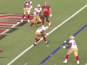 Watch: Tarvarius Moore nearly picks off Jameis to make fourth-down goal-line stop