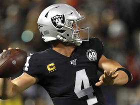 Watch: Derek Carr lofts downfield DIME to Tyrell Williams for 43 yards