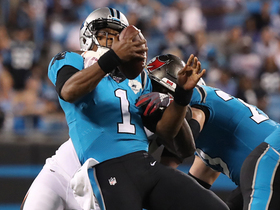 Watch: Bucs defense forces Cam Newton fumble, Ndamukong Suh recovers