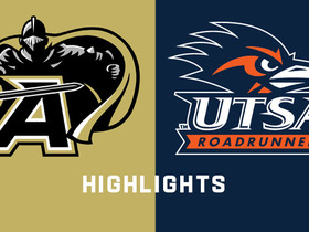 Watch: Army Black Knights vs. UTSA Roadrunners highlights