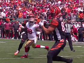Watch: Tyler Eifert ties things up with 1-yard TD grab