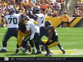 Watch: Two for Tuitt! Stephon downs Wilson for back-to-back sacks