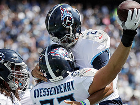 Watch: Big-man TD! Mariota hits wide-open Quessenberry for TD