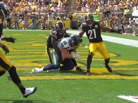 Watch: Dissly high-points TD for Seahawks' first ever points at Heinz Field